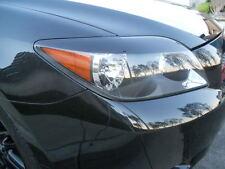 05-2010 Scion TC Headlight Eyelid Overlays -Gloss Black Pre-Cut vinyl eye brows