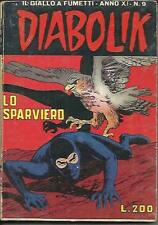 DIABOLIK anno XI n° 9 (Astorina, 1972)