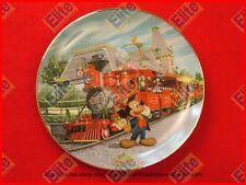 "Disneylands 40th Anniversary ""Disneyland Railroad"" Bradford Collector Plate -NIB"