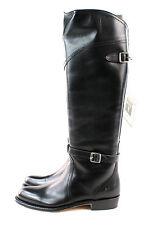 FRYE Women's Dorado Knee High  Riding Boot 77560 Black Full Grain Size 5.5 M