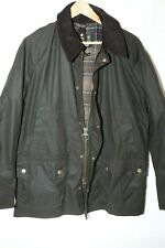 #172 Barbour Ashby Waxed Cotton Jacket Size XL OLIVE GREEN