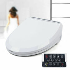 Digital Warm Air Dryer Smart Toilet Seat w/ Self-cleaning Nozzle&Remote Control