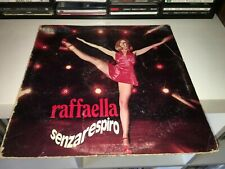RAFFAELLA CARRA' SENZARESPIRO LP STAMPA RCA 1972 COPERTINA APRIBILE A POSTER