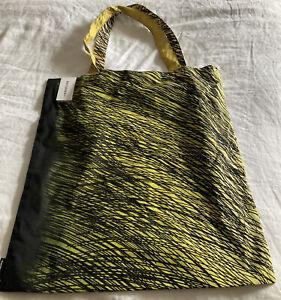 Marimekko NEW W/ TAGS Cotton Tote Bag Kuuska Jaskari Ombré W/ Black