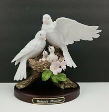 Homco Home Interriors Classic Porcelain Nature's Promise Nesting Birds Figurine