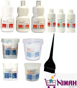 Truzone Cream Peroxide & Trulites Rapid Bleach Powder Kit | All Strength & Size
