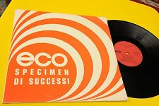 SPECIMEN DI SUCCESSI ECO ORIG ITALY LIBRARY 1970 EX !!!! TOOOPPPPPP