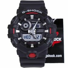 *NEW* CASIO MENS G SHOCK BLACK 3D DIAL WATCH OVERSIZE XL GA-700-1A  RRP£169