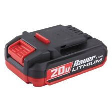 Bauer 20V HyperMax™ Lithium 1.5 Ah 1701C-B Compact Battery NEW