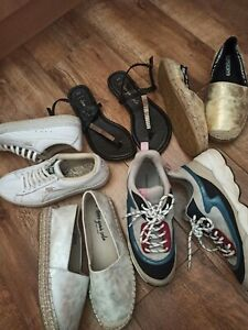 Bundle Of Women's Shoes Trainers Size 6 39 puma h&m new look superdry