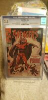 Avengers #57 CGC 3.5 1st app Silver Age VISION John Buscema Cover Marvel Comics