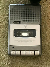 Ge Personal Portable Recorder & Cassette Player Built In Mic Model 3-5030A Works