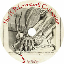 H. P. Lovecraft Collection 30+ Audiobooks English on 1 MP3 CD Fiction Free Ship