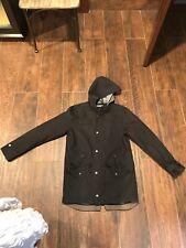 Medium BRUNSWICK GARMENTS Lightweight, Hooded Zip Jacket Black