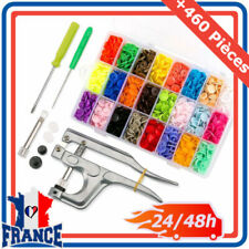 Boutons de couvercle/kit pour couture