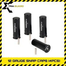 4PK Miroku 12 Gauge Shotgun Metal Snap Caps Firing Pin Dummy Round w/Replace 12G
