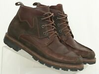 Cole Haan F4437 Brown Moc Toe Lace Up Ankle Hiking Boots Women's US 8 N
