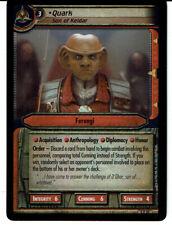 STAR TREK CCG 2E PROMO CARD 0P30 QUARK, SON OF KELDAR (foil)