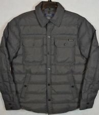 Polo Ralph Lauren Puffer Quilted Down Jacket Shirt Coat S Small NWT $199