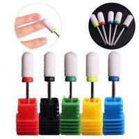 Ceramic Nail Drill Bits Gel-Removal Polishing Tool Pedicure Manicure xkj