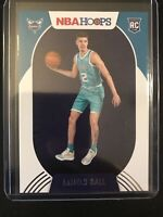 2020-21 Panini NBA Hoops Lamelo Ball Rookie Charlotte Hornets RC