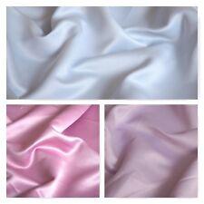 """Duchess Bridal Matt satin Dress Fabric 100% Polyester 58"""" Wide M265"""