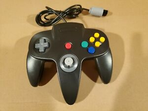 For Nintendo 64 Black N64 Controller Video Game Console Gamepad Joypad Wired