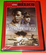 LAS RATAS DEL DESIERTO / THE DESERT RATS English Español ... DVD R2 Precintada