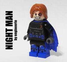 LEGO Custom - Night Man Malibu comics - Marvel Super heroes minifigures x-men