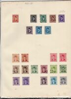 egypt issues of 1920-30 stamps page ref 18121