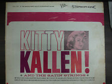 KITTY KALLEN AND THE SATIN STRINGS 33RPM EX 111615 TLJ