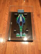 "Benetton Formula 1 Michael Schumacher 1994 1/8th Scale Signed 24"" F1 F-1 Ferrari"