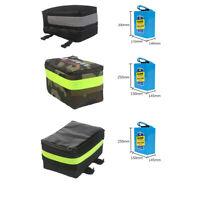 Electric Bike Rear Bag Storage Bicycle E-bike Protective PVC 18650 Battery Case