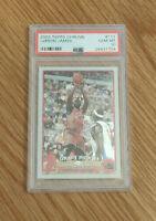 2003-04 Topps Chrome #111 LEBRON JAMES RC Rookie Basketball Card - PSA 10 GEM MT