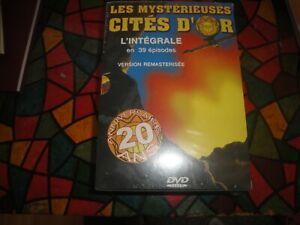 """"""" COFFRET 4  DVD INTEGRALE LES MYSTERIEUSES CITES D OR SAISON 1"""