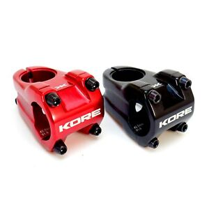 Kore Rivera Stem Clamp 31.8mm x 42.5mm Extension MTB DH Short Stem Black or Red