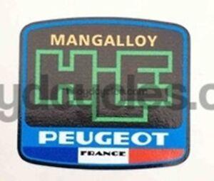 Peugeot Mangalloy HLE Decal