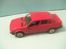 S601 ALFA ROMEO GIULIETTA 4 doors with mags scale 1:25 by Polistil made ITALY