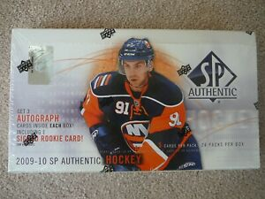 2009-10 UD SP Authentic NHL hobby box factory sealed John Tavares Future Watch