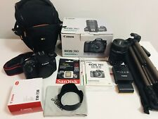 Canon EOS 70D 20.2MP DSLR Camera Kit w/ EF-S IS STM 18-135mm BUNDLE