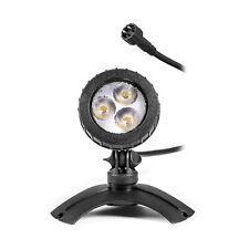 LED Unterwasserbeleuchtung Teich Strahler für 12V AC Niedervolt IP44 Stecksystem