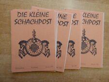 Kleine Schachpost der Justizvollzugsanstalt Straubing 36. Jahrgang 1999