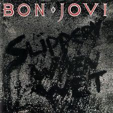 Bon Jovi SLIPPERY WHEN WET 3rd Album 180g MERCURY RECORDS New Sealed Vinyl LP