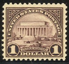 571 - $1.00 Lincoln Memorial - Fault Free Mint Never Hinged