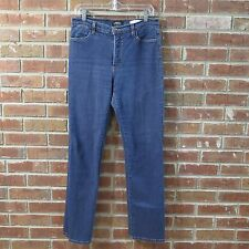 NYDJ Jeans Size 8 Boot Cut #12330 Tummy Tuck Stretch Not Your Daughters 32x32 -Y