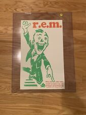 R.E.M. 2004 Rem Nashville Ryman Hatch Show Print Concert Tour Poster Very Rare