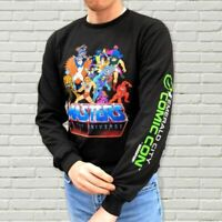 MASTERS OF THE UNIVERSE LONG SLEEVE T-SHIRT (ECCC EXC.) LARGE *RARE UK STOCK*
