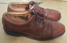 Johnston & Murphy Passport Cap Toe Oxford Brown Dress Shoes Size 11.5 M 20-4926