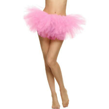 Women Girl Tutu Costume Ballet Rave Party Petticoat Mini Skirt Dance Skirt CA