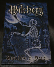 Witchery Restless & Dead Rare Post Card Promo Sharlee D'Angelo Of Mercyful Fate